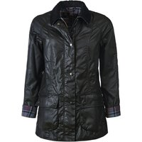 Barbour Womens Beadnell Wax Jacket Black 8