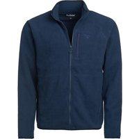 Barbour Mens Essential Fleece Zip Through Navy Small