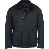 Barbour Mens Allund Wax Jacket Navy XXL