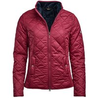 Barbour Womens Backstay Quilted Jacket Pink 8