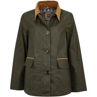 Barbour Womens Christie Wax Jacket Archive Olive/Classic 12