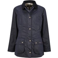 Barbour Womens Aintree Wax Jacket Royal Navy 12