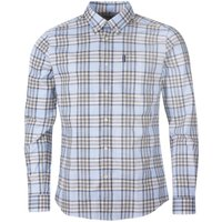 Barbour Mens Highland Check 26 Tailored Shirt Stone XXL