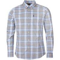 Barbour Mens Highland Check 26 Tailored Shirt Stone Medium