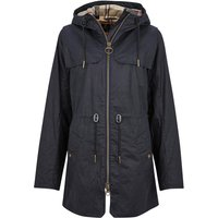 Barbour Womens Watson Wax Jacket Royal Navy/Dress 14