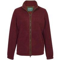 Alan Paine Womens Aylsham Fleece Jacket Bordeaux 8