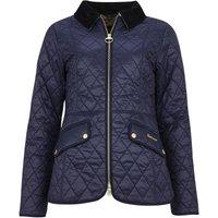 Barbour Womens Haydock Quilt Jacket Navy 16