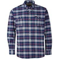 Barbour Mens Barton Coolmax Shirt Navy Large