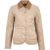 Barbour Womens Deveron Quilted Jacket Lt Trench/Lt Trench 18