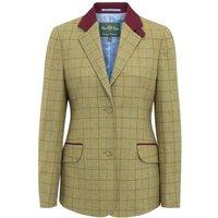 Alan Paine Womens Combrook Tweed Blazer Aspen 14