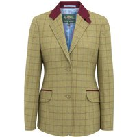 Alan Paine Womens Combrook Tweed Blazer Aspen 18