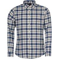 Barbour Mens Sealton Shirt Washed Navy XL
