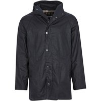 Barbour Mens Breswell Wax Jacket Navy XL