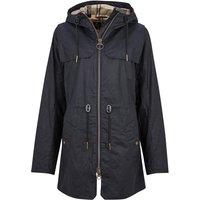 Barbour Womens Watson Wax Jacket Royal Navy/Dress 18