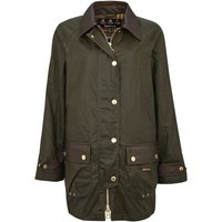 Barbour Womens Winslet Wax Jacket Archive Olive/Classic 12