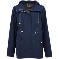 Barbour Womens Lothian Showerproof Jacket Navy/Blue Mist 10