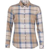 Barbour Womens Bredon Shirt Blue Mist Tartan 18