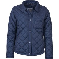 Barbour Womens Blue Caps Quilted Jacket Summer Navy 12