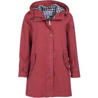 Barbour Womens Pintail Casual Jacket Mulberry 12