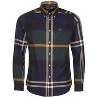 Barbour Mens Dunoon Tailored Shirt Seaweed Tartan XXL