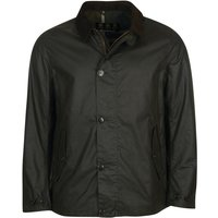 Barbour Mens Commuter Wax Jacket Sage/Classic Small