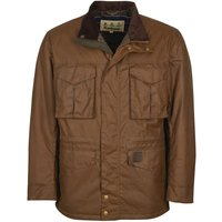 Barbour Mens Watson Wax Jacket Brown Small