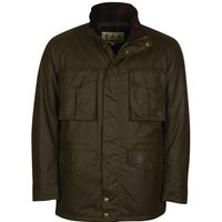 Barbour Mens Watson Wax Jacket Archive Olive Large