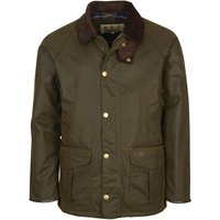 Barbour Mens Stratford Wax Jacket Olive Small