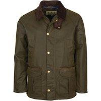 Barbour Mens Stratford Wax Jacket Olive Large