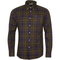 Barbour Mens Wetherham Tailored Shirt Classic Tartan Medium