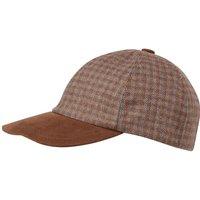Schoffel Mens Barnsdale Baseball Cap Skye Tweed One