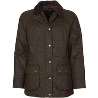 Barbour Womens Wardley Wax Jacket Olive/Classic 14