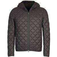 Barbour Mens Hooded Quilted Jacket Asphalt XL