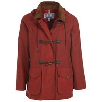Barbour Womens Merlin Wax Jacket Flame Red 8