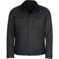 Barbour Mens West Wax Jacket Navy XL
