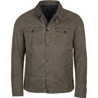 Barbour Mens West Wax Jacket Charcoal Small