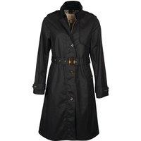 Barbour Womens Pastoral Wax Jacket Dark Navy/Hessian Tartan 14