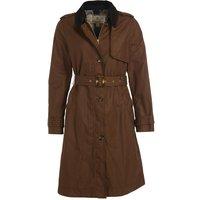 Barbour Womens Pastoral Wax Jacket Bark/Hessian Tartan 14