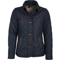 Barbour Womens Forth Quilted Jacket Dark Navy/Hessian Tartan 10