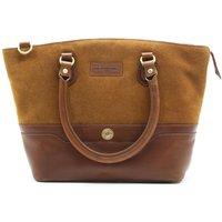 Hicks and Hides Womens Bourton Cartridge Handbag Tan