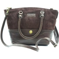 Hicks and Hides Womens Bourton Cartridge Handbag Brown
