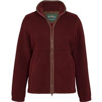 Alan Paine Womens Aylsham Fleece Jacket Bloodstone 14