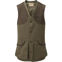 Schoffel Mens Ptarmigan Tweed Waistcoat II Buckingham Tweed 44