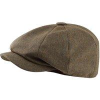 Schoffel Womens Bakerboy II Cap Loden Green Herringbone Tweed One