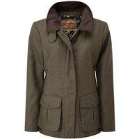 Schoffel Womens Lilymere Hacking Jacket Loden Green Herringbone Tweed 16