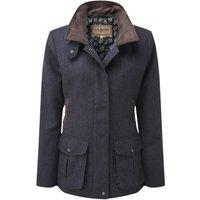Schoffel Womens Lilymere Hacking Jacket Navy Herringbone Tweed 12