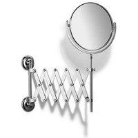 Samuel Heath Novis Extending Mirror Plain / Magnifying L1108 Chrome Plated