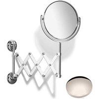 Samuel Heath Curzon Extending Mirror Plain / Magnifying L110 Polished Nickel
