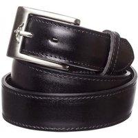 R.M. Williams Mens 1.25 Inch Dress Belt Black 38