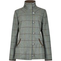 Dubarry Womens Bracken Tweed Utility Jacket Sorrel 10